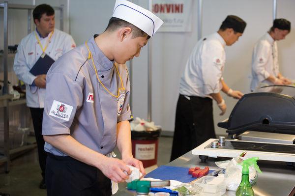 Конкурс поваров японской кухни